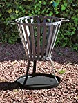 Fire Basket Bbq Metal Fi...