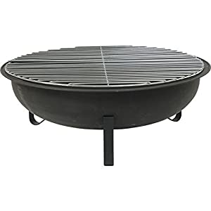 Fire Bowl - Fire Pit With Grill Surface from empasa