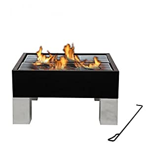 Fire Pit And Bbq Grill Combined - Outdoor Heating And Eating from Tepro