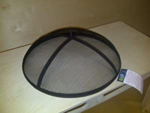 Fire Pit Bowl Bbq Spark Guard from TGC