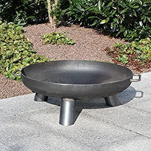 Fire Pit Daytona 80 Steel 80 Cm Diameter Fire Bowl by DECORAS