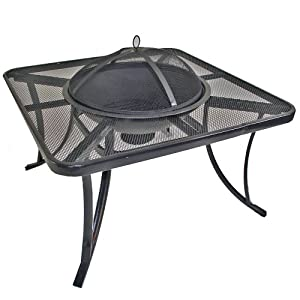 Fire Pit Table Drinks Cooler by Hampton