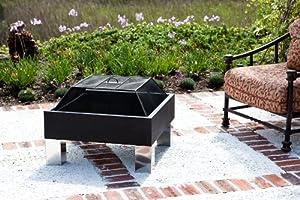 Fire Sense 60454 Fire Sense Hotspot Square Fire Pit from Fire Sense