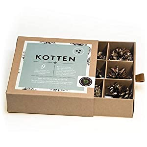 Fire Starter Natural And Ecologic Scandinavian Hygge Gifts For Bbq Grill Fireplace Campfire Fire Pit Or Stove by Kotten