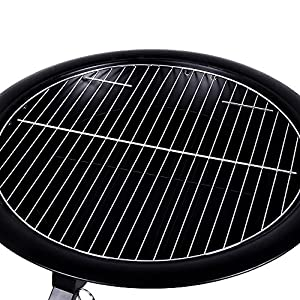 Fire Vida Steel Foldable Fire Pit Garden Patio Heater Bbq Black Large from Lassic