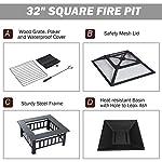 Fobuy Fire Pit Bbq Heater...