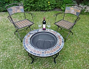 Funchal Mosaic Fire Pit Table by VISTERA