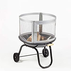 Furnace Fire Garden Stove Patio Heater Home Bbq Rack Firepit - Phoenix Sparkle by Phoenix Firepits