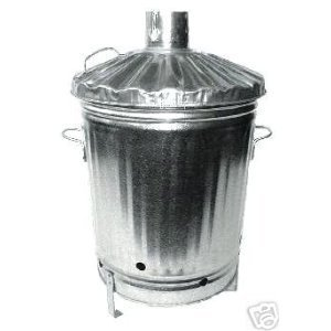 Galvanised Garden Incinerator Fire Bin Good Quality  by PARASENE