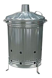 Galvanised Steel Incinerator Bin