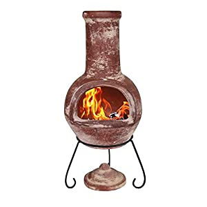 Gardeco Colima Mexican Chimney Red Large from Gardeco