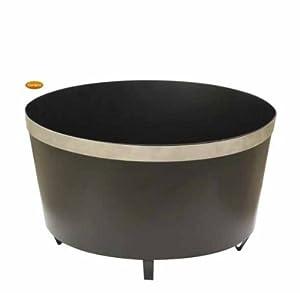 Gardeco Orbita Steel Oval Fire Bowl