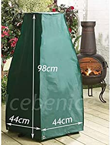 Garden Chiminea Cover Weather Protection Heavy Duty Small 98cm High X 44cm Sq from Express