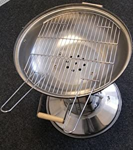 Garden Chiminea With Charoal Grillbarbecue Grill-special Bbq Stainless Stell10free Pcs Bbq Tool Set by Othello