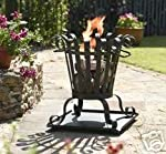 Garden Fire Basket Patio ...
