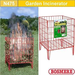 Garden Incinerator 45x45x60cm Flatpack from Bosmere