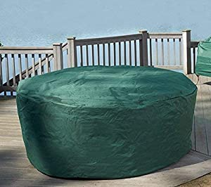 Garden Mile Heavy Duty Green Weatherproof Garden Furniture Covers Uv Protected For Garden Patio Sets Wooden Benches Bbqs Chimeneas And Firepits Secure Drawstring Fastening Garden Furniture Patio Set Cover from Garden mile®