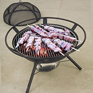 Garden Patio Firepit For Use As Bbq Outdoors Fire Pit Fire Bowl Patio Heater 13kg by Jiangsu