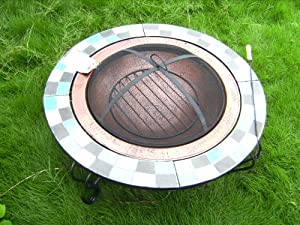 Garden Patio Firepit For Use Outdoors Fire Pit Fire Bowl Patio Heater 33kg by Jiangsu