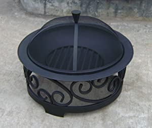 Garden Patio Heater Fire Pit Brazier Chiminea 36 by Jiangsu