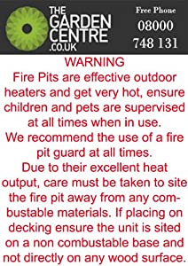 Garden Patio Heater Fire Pit Brazier Chiminea 39 by Jiangsu