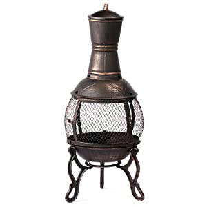 Gardeners Choice Bronze Mesh Chiminea