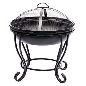 Gardeners Choice Ornate Fire Pit - Small Bundle Saver