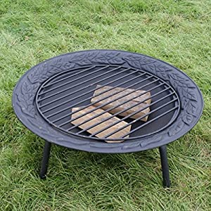 Giant Dish Cast Iron Log Burnerbarbecuefirepitwood Stove from Roundwood Trading
