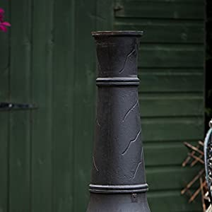 Go Garden Hoole Cast Iron Chimenea Fireplace by Woodlodge Products
