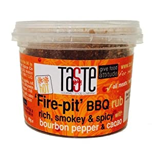 Gourmet Spice Company Fire-pit Bbq Rub Hot 40g