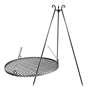Grill Pan Tripod Steel 1968incl Fire Bowl 236 Haiti by Farmcook