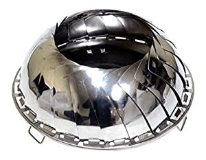 Grilliput Fire Bowl - Metallic X-large from Grilliput