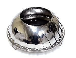 Grilliput Mens Fire Bowl - Stainless Steel by Grilliput