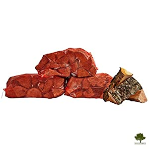 Hardwood Firewood Chunky Logs -kiln Dried - Large Heavy 40 Litre 25cm Long Perfect For Open Fire Stoves Log Burner Fire Pits Pizza Ovens Fast Delivery 3 X 15kg Net from Gwernyfed Wood