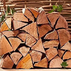 Hardwood Firewood Chunky Logs -kiln Dried - Large Heavy 40 Litre 25cm Long Perfect For Open Fire Stoves Log Burner Fire Pits Pizza Ovens Fast Delivery 6 X 15kg Net from Gwernyfed Wood