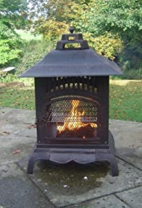 Harlin Small Square Cooking Patio Fire Pit from The Cowshed