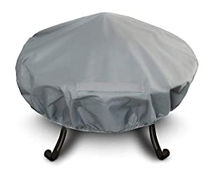 Heavy Duty Premium Large Waterproof Fire Pit Cover Size 131cm Diameter Approx by FiNeWaY