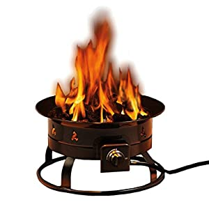 Heininger 5995 58000 Btu Portable Propane Outdoor Fire Pit from Heininger