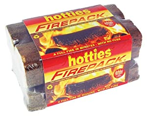 Hotties Firepack - The Easy Solution For A Fire