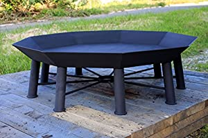 Huge Garden Polygon Fire Pit The Nonagon By Nimonic by Nimonic Specialist Welders