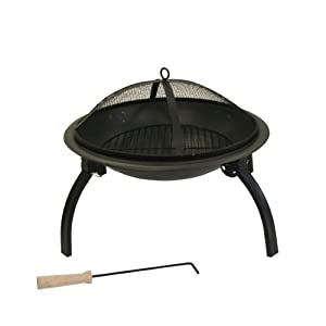 Kamino-flam Artemis 481550 Fire Pit With Foldable Legs by Kamino-Flam