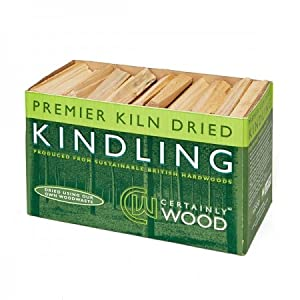 Kiln Dried Kindling Wood - Natural Firelighters For Log Burners Firewood For Home Fires Bbqs Fire Pits Stove Fireplaces by Certainly Wood