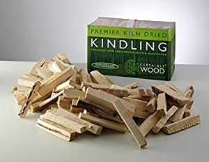 Kiln Dried Kindling Wood - Natural Firelighters For Log Burners Firewood For Home Fires Bbqs Fire Pits Stove Fireplacesflamers by Certainly Wood