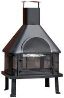 Kingfisher Outdoor Log Burner And Chiminea Bbq Heater Buywitheeze