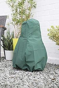 La Hacienda 60532 Small Deluxe Chimenea Rain Cover - Green by La Hacienda