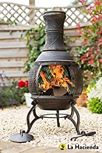 La Hacienda Cast Iron Chimenea by TOFS