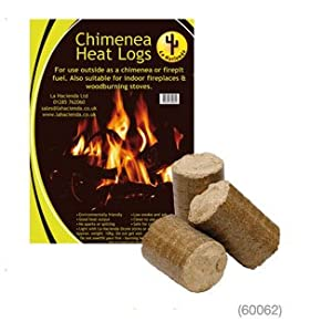 La Hacienda Chimenea Or Firepit Heat Logs - 10kg from La HAcienda