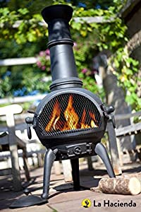 La Hacienda Garden Chiminea Patio Garden Chiminea Large Lisbon Chiminea from La Hacienda