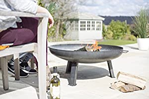La Hacienda Pittsburgh Steel Firepit - Medium - 80cm Diameter