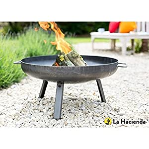 La Hacienda Pittsburgh Steel Firepit - Small - 60cm Diameter